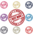 best mom stamp vector image