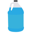 Big bottle water vector image