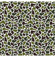 camouflage fluid simple pattern geometric vector image vector image