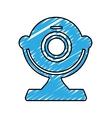 computer webcam icon image vector image vector image