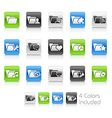 Folder Icons 2 Clean Series vector image vector image