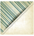pastel striped old background vector image