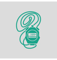 Coach stopwatch icon vector image vector image