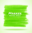 Green Marker Stain vector image vector image