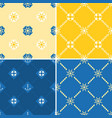 navy and nautical seamless pattern theme set 2 vector image vector image