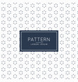 stylish minimal flower pattern background vector image vector image