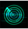 technological global radar modern abstract vector image vector image