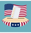 United States of America Election box vector image vector image