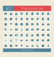 user interface icons set vector image