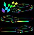 Auto symbol vector image vector image