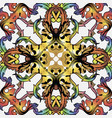 colorful baroque seamless pattern ornamental vector image