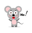 concept cute mouse concept vector image vector image