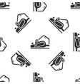 grey electric planer tool icon isolated seamless vector image vector image