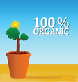 organic nature vector image