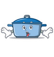 surprised kitchen character cartoon style vector image vector image