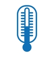 thermometer isolated icon design vector image vector image