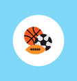 balls icon sign symbol vector image