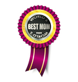 best mom medal vector image vector image
