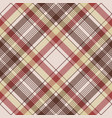 brown plaid pixel fabric texture seamless pattern vector image