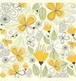 floral pattern design vector image vector image
