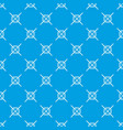 grainy wheat pattern seamless blue vector image vector image