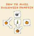 How to make Jack-OLantern vector image