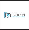 photography logo camera logo design vector image vector image