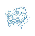 Portrait-Of-Goddess-Aegle-380x400 vector image vector image
