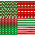 Set of Christmas backgrounds vector image