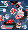 abstract seamless fantastic super pattern vector image vector image