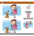 activity for preschool kids vector image vector image