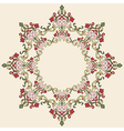 Antique ottoman turkish pattern design thirty four vector image vector image