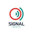 circle signal for logo design concept very vector image