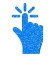 Click Grainy Texture Icon vector image