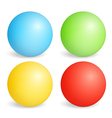 Colored Spheres vector image vector image