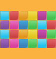 colourful square seamless pattern vector image vector image