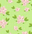 Sakura seamless pattern vector image vector image