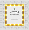showing board background with lamps decoration vector image