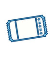 tickets to cinema movie entertainment movie vector image vector image