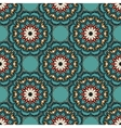 Abstract seamless ornament floral pattern vector image vector image