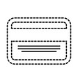 business card credit debit bank template vector image