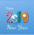 happy new year 2019 banner creative festive vector image