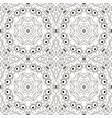 mandala zentangl seamless ornament relax oriental vector image vector image