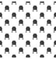 metal dust bin pattern vector image vector image