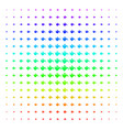 paint bucket icon halftone spectral grid vector image