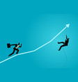 short cut to success vector image vector image