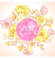 spring branches vector image vector image