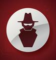 virus icon design vector image