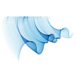 wave of flowing particles modern relaxing vector image vector image