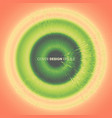 abstract circular background with dynamic rays vector image